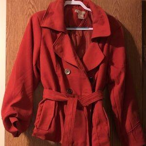 Jackets & Blazers - Paris Blues 2X pea coat